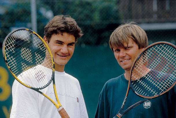 De mens Roger Federer